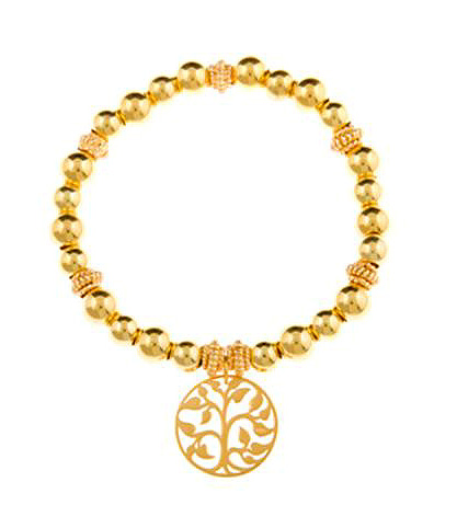 Gold Vermeil Tree of Life Bracelet