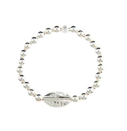Sterling Silver Goddess Hammered Bracelet