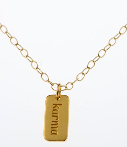 Gold Vermeil  Friendship Necklace