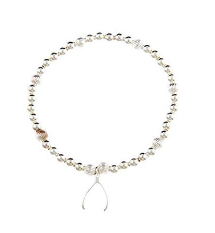 Sterling Silver Make a Wish Wishbone Bracelet