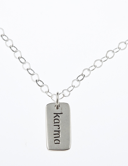 Sterling Silver Friendship Necklace